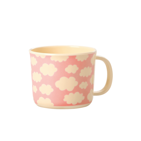 Rice DK | Baby Melamine Cup with Cloud Print