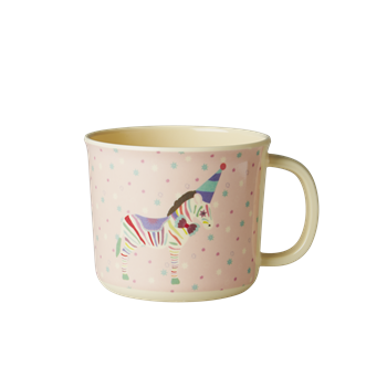 Rice DK | Baby Melamine Cup with Girl Circus Print