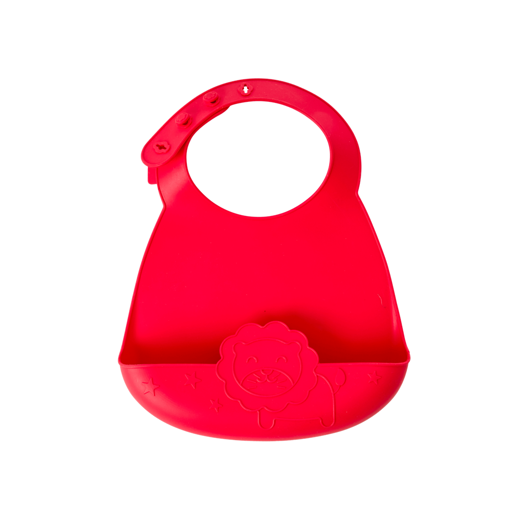 Rice DK | SILICONE BIB IN LION SHAPE