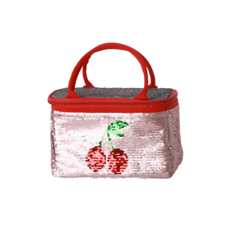 Rice DK Small Sequin Cooler Lunch Bag
