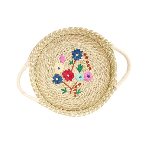 Rice DK Medium Rafia Bread Basket