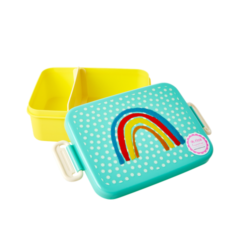 Rice Dk Lunchbox Divider with Rainbow and Stars Print