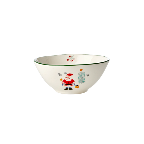 Rice DK Ceramic Bowl with Santa Claus