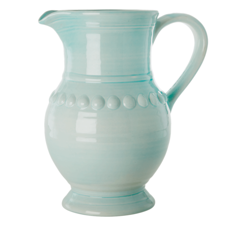 Rice DK X-Large CERAMIC JUG IN ICE BLUE - 7.9L.