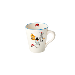 Rice DK Ceramic Mug with Handle Snowman