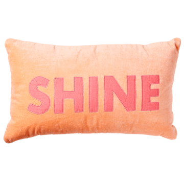 Rice DK Rectangular 'Shine' Pillow