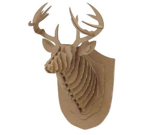Recyclable Deer 3D Puzzle