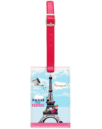 DLP Luggage Label Holder Paris