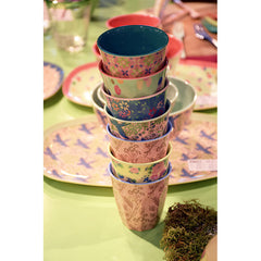 Rice DK | Set of 6 Small Melamine Stay Outstanding Designed Cups