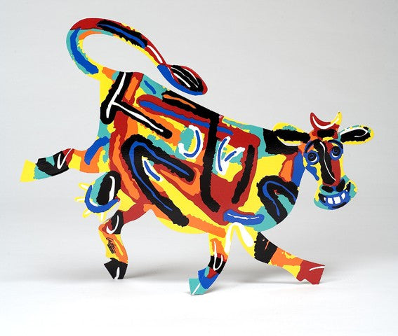 David Gerstein  Elza Cow Wall Decor