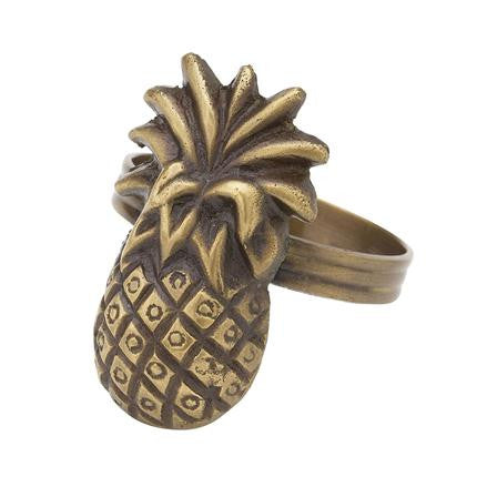 Lisbeth Dahl | Brass Pineapple Napkin Ring
