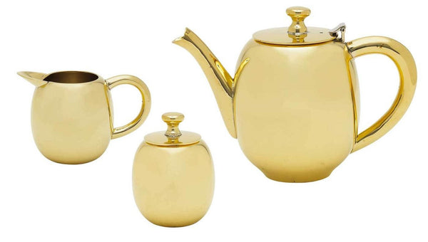 Lisbeth Dahl | Gold Tea Set
