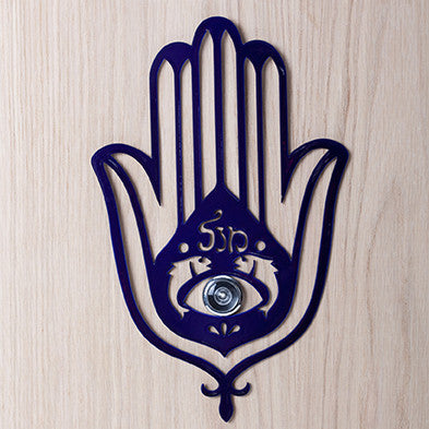 Artori Design | Hamsa Door Spyhole Decoration - Blue