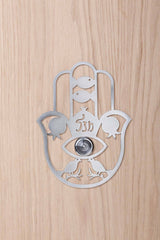 Artori Design | Hamsa Door Spyhole Decoration - Grey