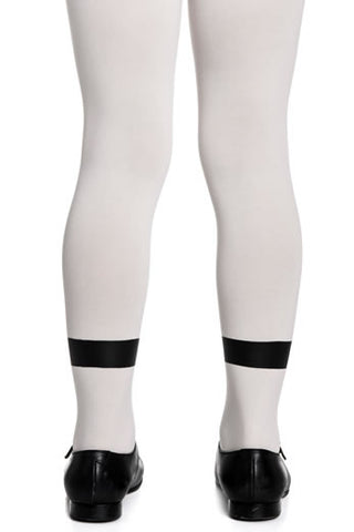Zohara Kids Cream Opaque Tights Panda Print