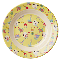 Rice DK | Kids Melamine Bowl with Boy Circus Print