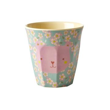Rice DK | Kids Small Melamine Cup Bear face Print