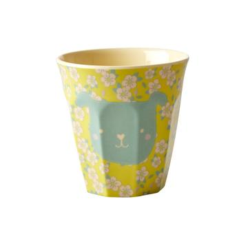 Rice DK | Kids Small Melamine Cup Dog face Print