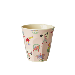 Rice DK | Kids Small Melamine Cup Girl Circus Print