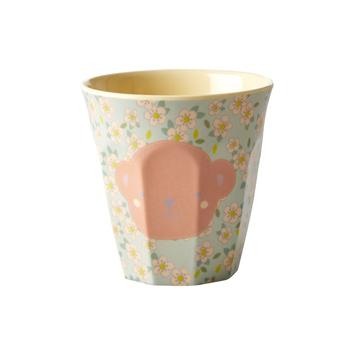 Rice DK | Kids Small Melamine Cup Monkey face Print