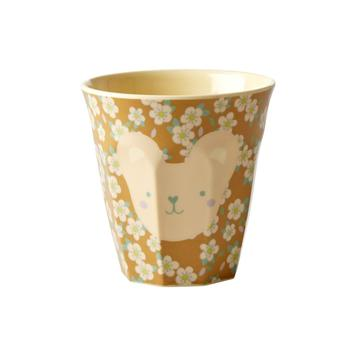 Rice DK | Kids Small Melamine Cup Teddy face Print