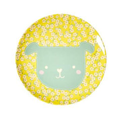 Rice DK | Animal Kids Lunch Plate Dog Print