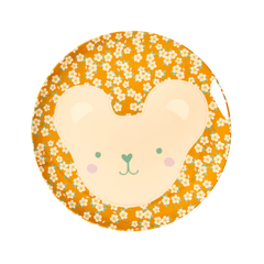 Rice DK | Animal Kids Lunch Plate Teddy Print