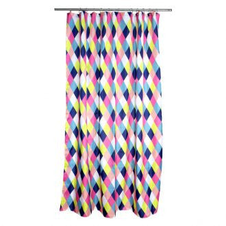 Kitsch Kitchen | Harlequin Shower Curtain