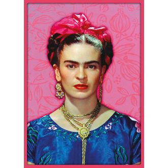 Kitsch Kitchen | Frida Kahlo Pink Poster