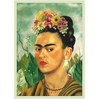 Kitsch Kitchen | Frida Kahlo Light Green Poster