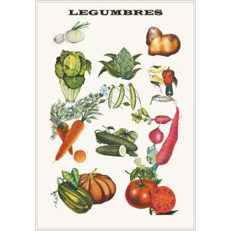 Kitsch Kitchen | Poster Legumbres Vegetables