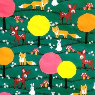Kitsch Kitchen |  Bambi Oilcloth