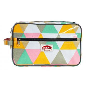Kitsch Kitchen | Triangle Toiletry Bag