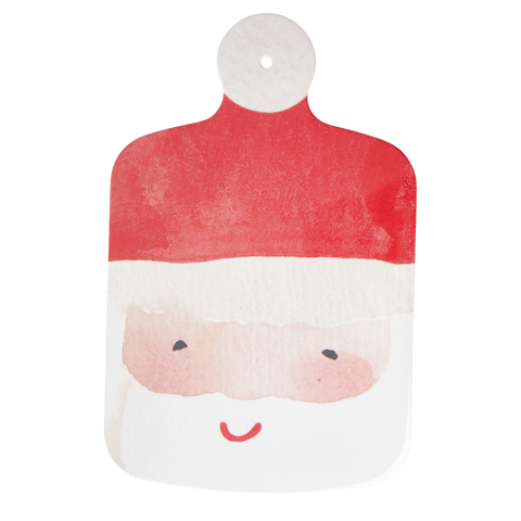 Rice Dk | Melamine Santa Claus Cutting Board Face Print
