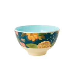 Rice DK | Two-Tone Melamine Small Bowl Selmas Fall print