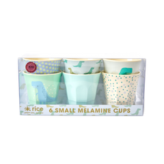 Rice DK | Set of 6 Small DINO Melamine Cups