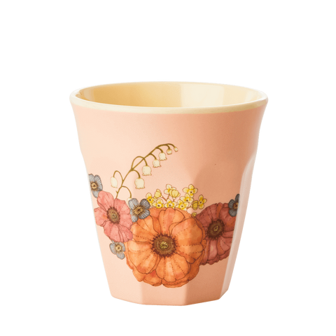 Rice Dk Kids' Small Pumpkin Print Melamine Cups