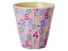 Rice DK Set of 6 Sweet Small Two Tone Melamine Cups
