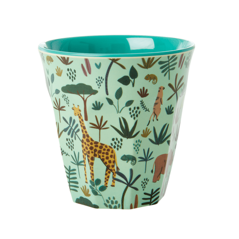Rice DK Melamine Cup Jungle PRINT - MEDIUM