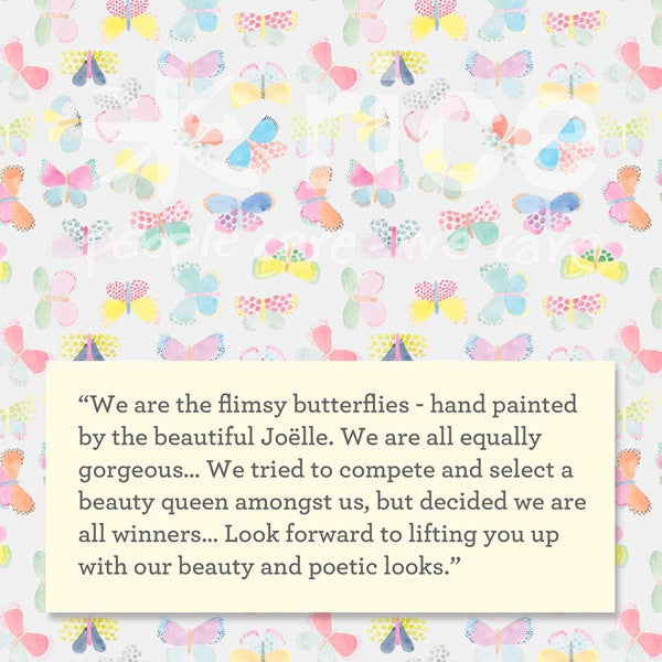 Rice DK Butterfly Print Collection