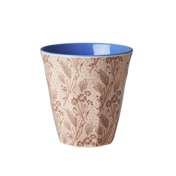 Rice DK | Two Tone Melamine Cup Flower Field Print