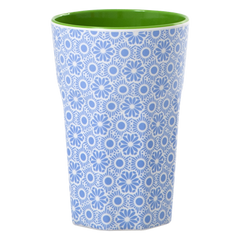 Rice DK Melamine Two Tone Latte Cup - Blue