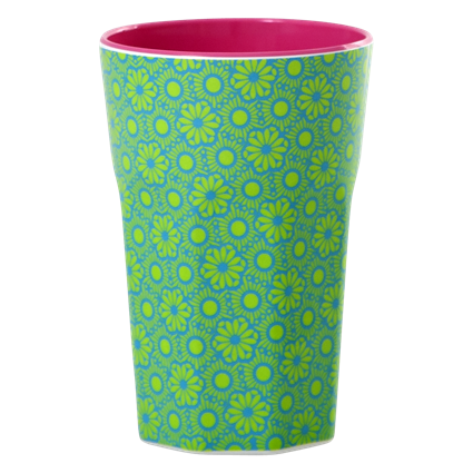 Rice DK Melamine Two Tone Latte Cup - Green