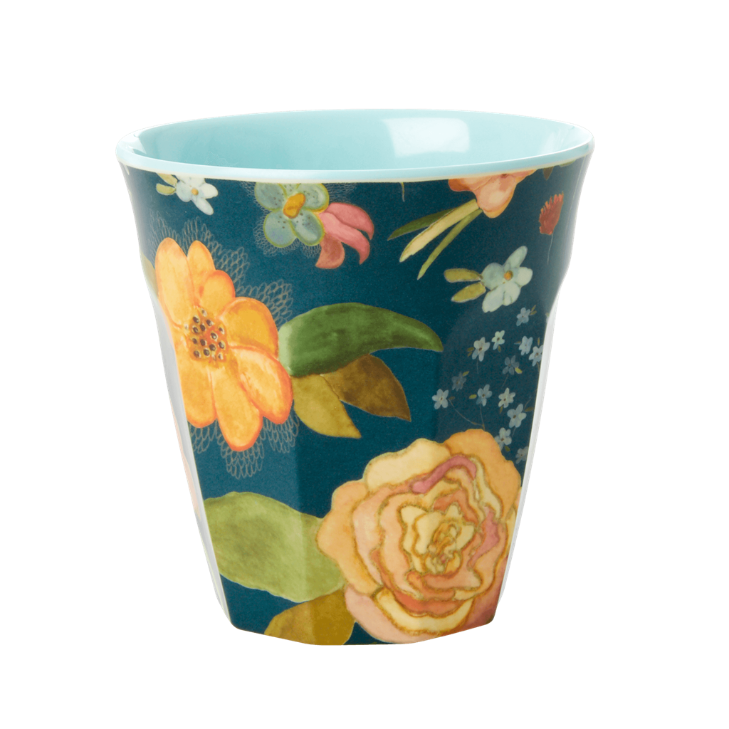 Rice DK | Two-Tone Melamine cup with Selmas Fall print