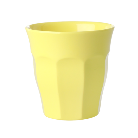Rice DK Soft Yellow Melamine Cup
