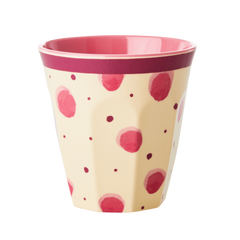 Rice DK | Melamine Cup Two Tone with Watercolor Splash Print
