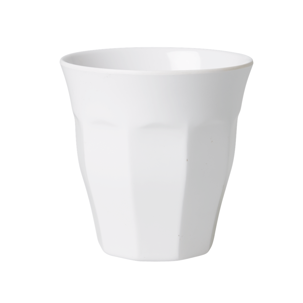 Rice DK White Melamine Cup