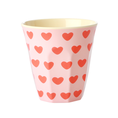 Rice DK Two-Tone Melamine With Sweet hearts Cup