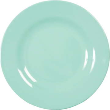 Rice DK Dark Mint Melamine Dinner Plate