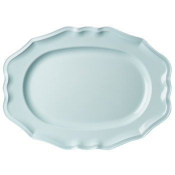 Rice Dk | Large Melamine Mint Serving Dish
